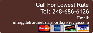 Call For Lowest Rate, Tel: (248) 686-6126